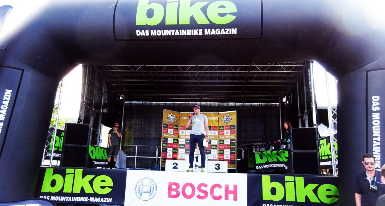 Zum ersten Mal wird die Siegerehrung des Bike Festivals Willingen 2018 moderiert von Stefan Lubowitzki